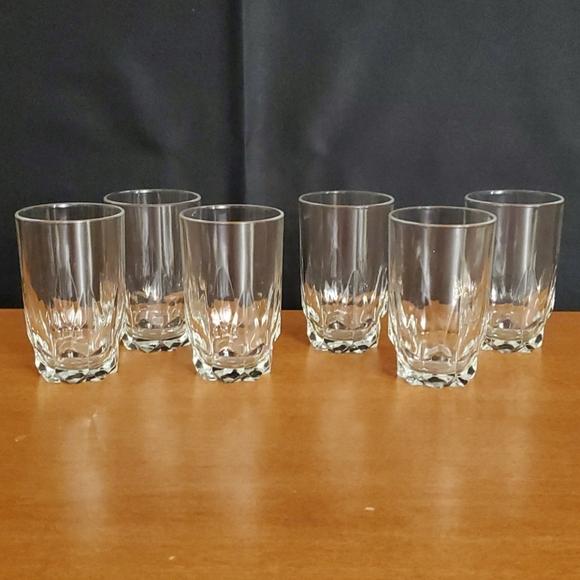 Set of 6 juice glasses